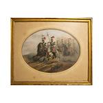 A.A Aillaud – Jeźdźcy Polskiej Gwardii Napoleona III
