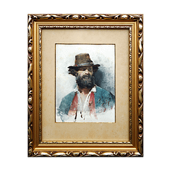 Julian Fałat – Portret Włocha